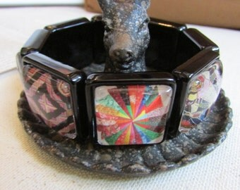 Quilter's Heaven Stretch Bangle