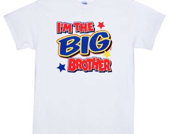 im the big brother t-Shirt, kids t-shirt, childrens t-shirt, funny saying shirts