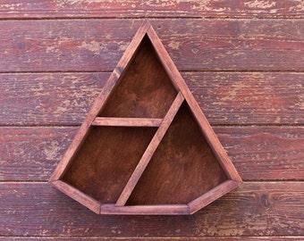 Diamond Geometric Shelf