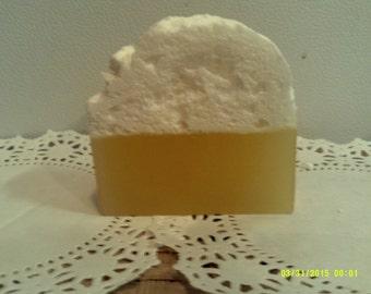 Honey ale, soothing skin glycerin soap