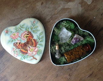 Butterfly Tin Altar Kit