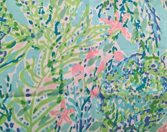 18 X 18 Or 1 Yard Lilly Pulitzer Sorority By