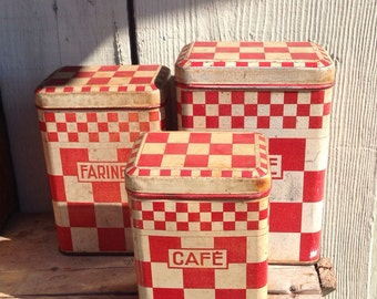 French storage cannisters
