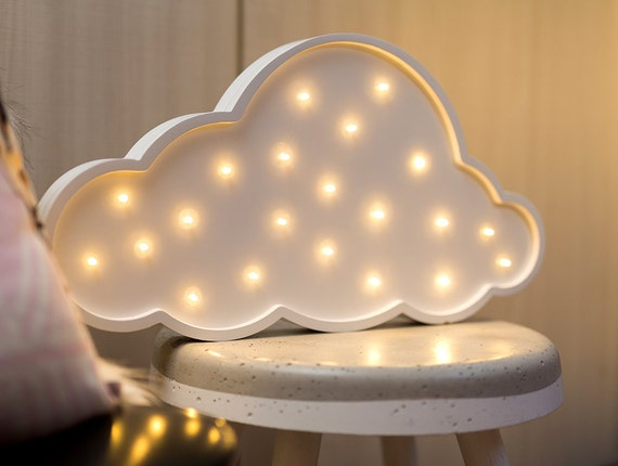 mini cloud battery operated light by lovestruckhomewares on etsy