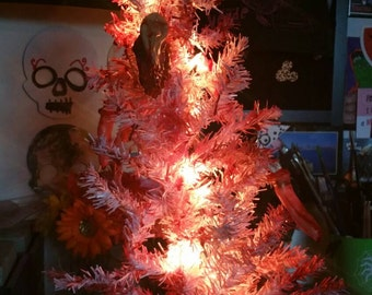 One of A Kind Bloody Body Parts Christmas Tree!!