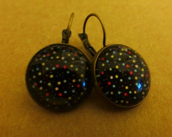 "Earrings ""Starry Night"""