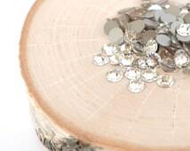 Swarovski Xirius Rose - Crystal Clear Flat Back - SS34 - Premium Crystal Rhinestones - Wholesale Swarovski Crystal Flat Backs - 25 Pieces