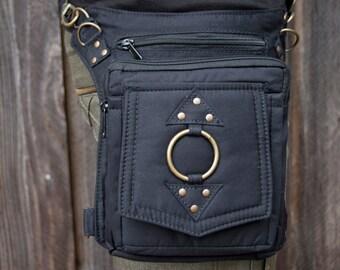 Eclipse Bag I (hip belt, pocket belt, utility belt, leg belt, backpack, dynamic bag, versatile, festival belt, vending belt, Burning Man)