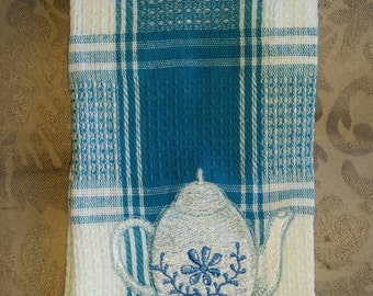 Homemade Embroidered Kitchen Hand Towel