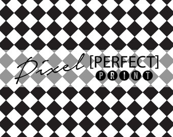"6ft x 6ft ""Racing Checkers"" Vinyl Backdrop // Vinyl Backdrops // Vinyl Photography Backdrop // Black & White Painted Backdrops (PP356)"