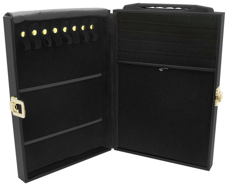 Jewelry Attache Display Travel Case