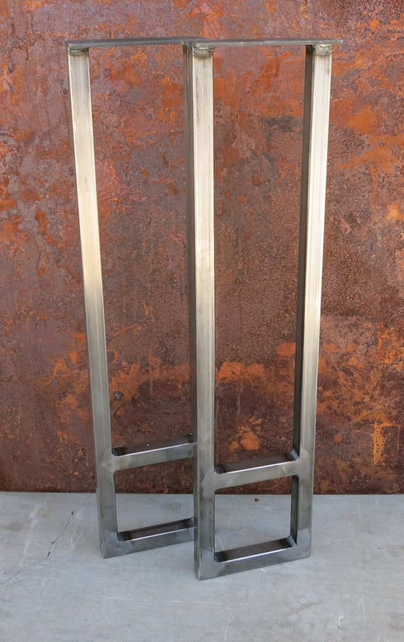 Metal Table Legs (Set of 2) 1'' tube
