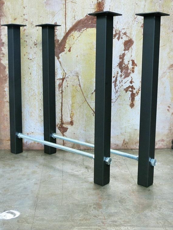 Metal Table Legs- Threaded Rod 2x2