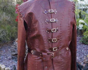 Jaime Lannister, Game of Thrones costume, 100% Real Leather Jacket. Latest version from season 5.