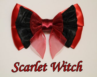 Scarlet Witch Hair Bow