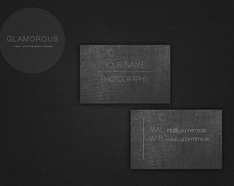 Business Card - Stone Touch
