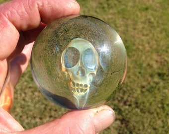 Laabs Glass Skull Marble