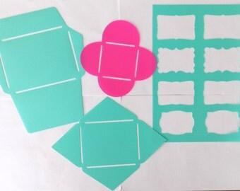 Templates / stencils for envelopes & labels (plastic)