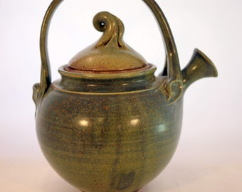 Whimsical Studio Pottery Teapot