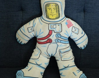 Vintage Astronaut Space Stuffed Toy