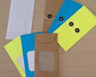 Set of 6 envelopes (SP01)