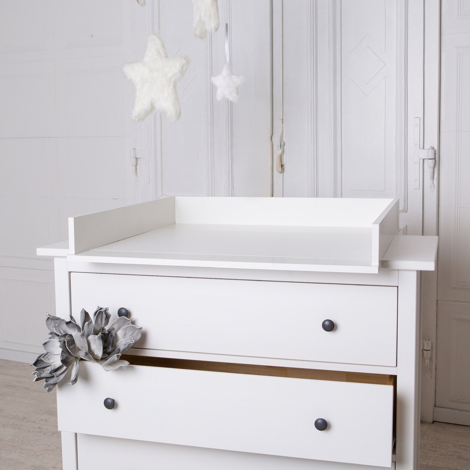 handmade chest of drawers changing table top for ikea hemnes. Black Bedroom Furniture Sets. Home Design Ideas