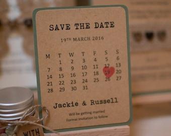 Mini Save The Date