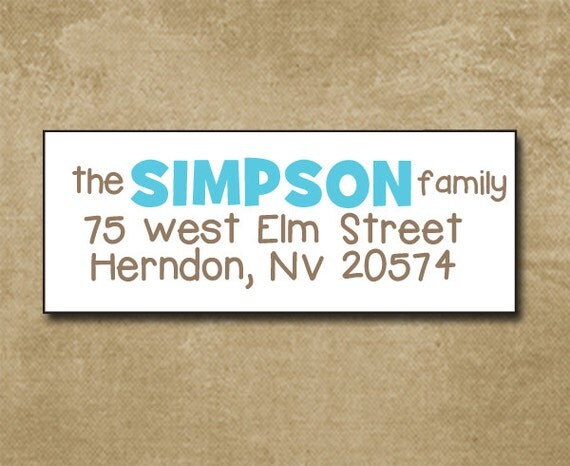 Personalized address labels return address labels custom for Custom mailing stickers