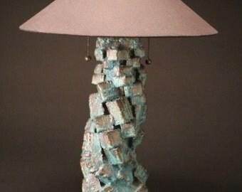 "26"" ceramic table lamp"