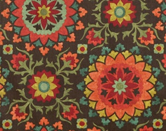 SALE!!!!,Cynthia Espresso, By Richloom Fabrics, Fabric By The Yard