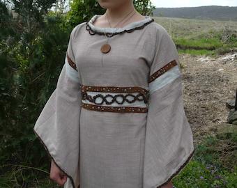 Linen fairy dress