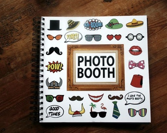 Photo Booth Album Black Pages 25cm x 25m 014-000