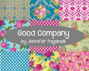 Good Company Fat Quarter Bundle - Jennifer Paganelli - Free Spirit Fabrics