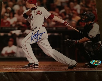 Todd Frazier Autographed 8 X 10