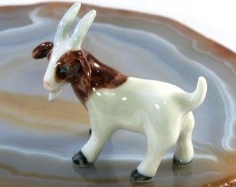 Goat - handpainted porcelain figurine 4965