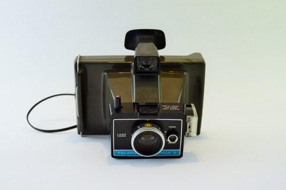 polaroid vintage polaroid colorpack ii land by generationupcycle. Black Bedroom Furniture Sets. Home Design Ideas