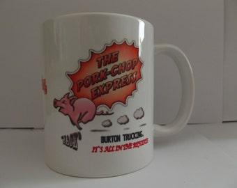 Jack Burtons The Pork Chop Express Picture Coffee Mug