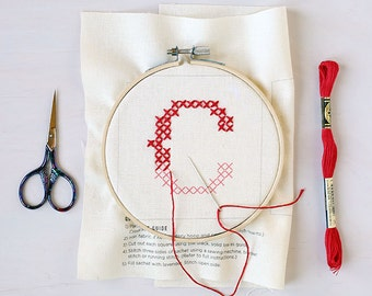 Letter C - Stitch Your Own Sachet Kit