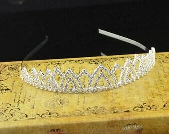 High quality handmade Cute baby headband princess tiara flower girl tiara baby tiara vintage tiara cute headpiece