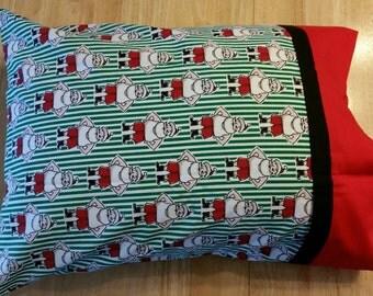 Pillowcase - Toddler/Travel Size - Santa Clause