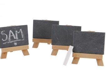 Mini Chalkboard Easel pack of 4