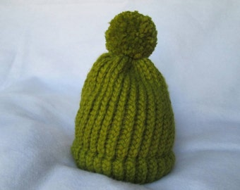 Baby Girl/Boy Green Hat