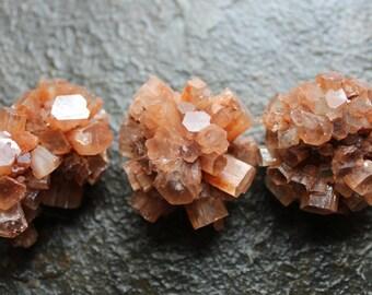 Aragonite- Orange