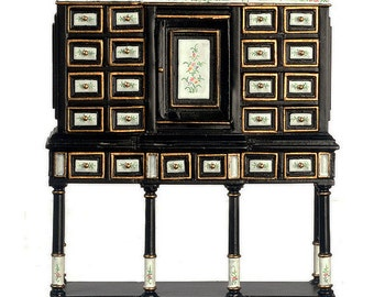 1:12 Scale Baroque Cabinet on Stand