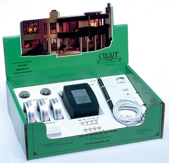 Cir-Kit Deluxe Wiring Dollhouse Lighting Kit