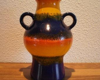 vintage Dumler & Breiden vase 302/21 Geramny, fat lava