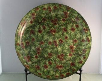 Decorative Christmas Bowl/Platter