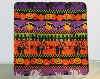 Decorative Halloween Cake Plate
