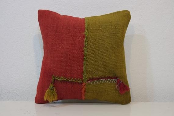 BOHEMIAN Style Southwestern Pillow Case Kilim Throw by kilimci