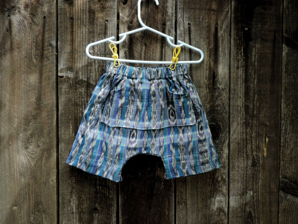 Hippie Babies Guatemalan Shorts Baggy Shorts Boho Kids